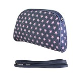 Denim Pink Star Cosmetic Bag - BG-CM020CPK