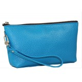Cosmetic Bags w/ Wristlet - Blue - BG-HD1445BL