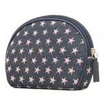 Denim Pink Star Cosmetic Bag - BG-PI026CPK