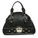 Crown Charm Bowling Bags - Black