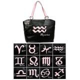 Horoscope Tote Bags - BG-HS971BK-PK
