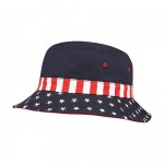 Bucket Hat - USA Flag Print