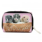 Tri-Fold Wallet - Kitty Print - WL-197CAT2-3