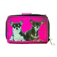 Tri-Fold Wallet - Dog Prin - WL-197DOG1-4