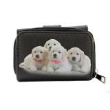 Tri-Fold Wallet - Dog Prin - WL-197DOG1-6