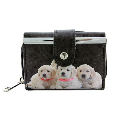 Tri-Fold Wallet - Dog Prin - WL-197DOG1-6