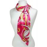 Sash Scarf - Pucci Print - H.Pink /Yellow - SF-CFB21402